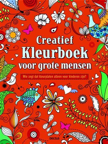 Creatief Kleuren Grote Mensen Boek