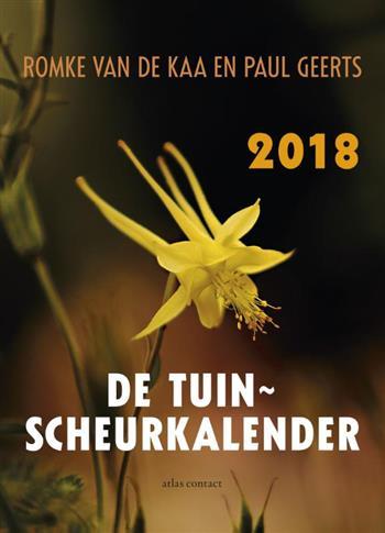 Tuinscheurkalender 2018