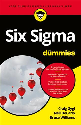 9789045355535 - Six Sigma voor Dummies, pocketeditie