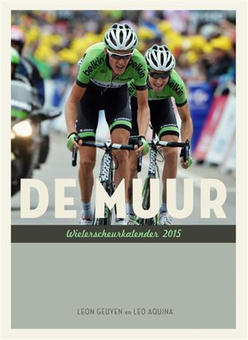 De muur wielerscheurkalender 2015