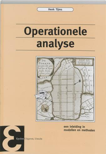 9789050410755 - Operationele analyse een inleidng in de modellen en methoden