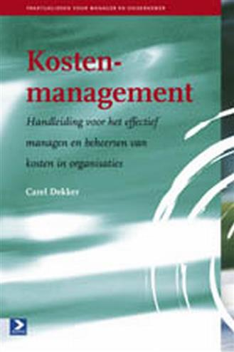 9789052616599 - Kostenmanagement