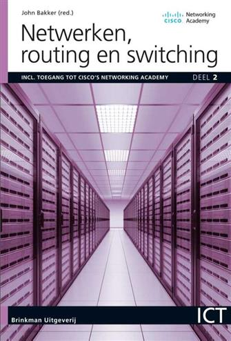 9789057524073 - Netwerken, deel 2, Routing en switching