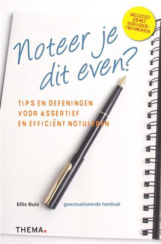 Noteer je dit even? - Buis, E.