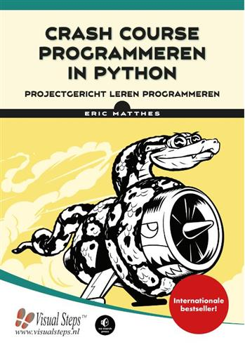 9789059056749 - Crash course programmeren in Python