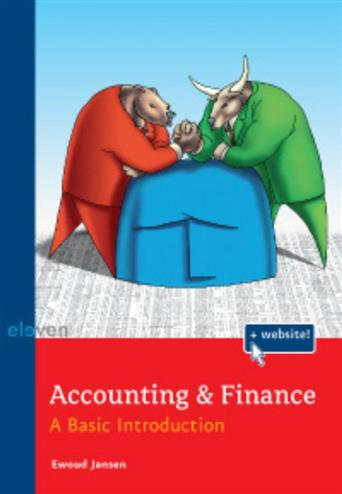9789059316287 - Accounting & finance a basic introduction
