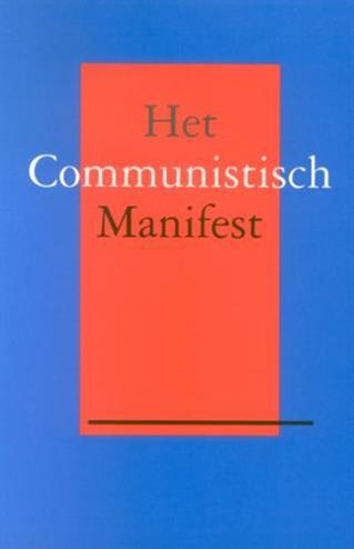 Studystore Het Communistisch Manifest Marx Kengels F