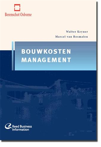 9789062284184 - Bouwkostenmanagement