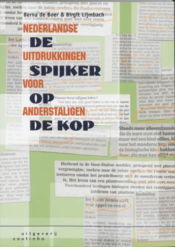 Studystore De Spijker Op De Kop Nederlandse Uitdrukkingen