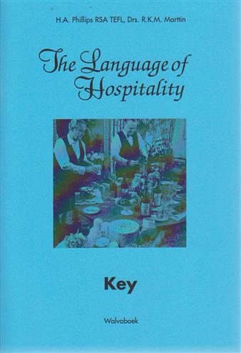 9789066752276 - The language of hospitality key