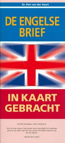 9789066752689 - De engelse brief in kaart gebracht