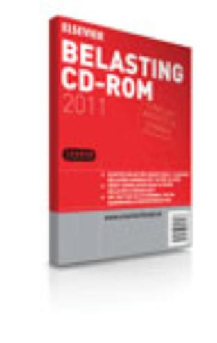 9789068828207 - Elsevier belasting cd-rom 2011