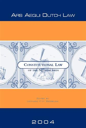 9789069165332 - Constitutional law of the netherlands