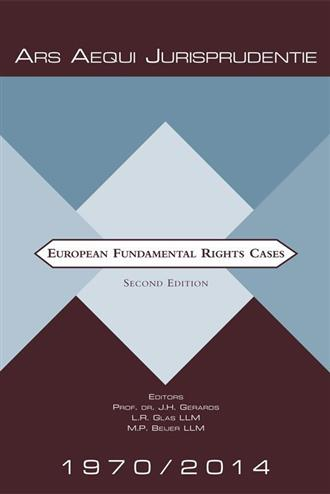 9789069165509 - European fundamental rights cases