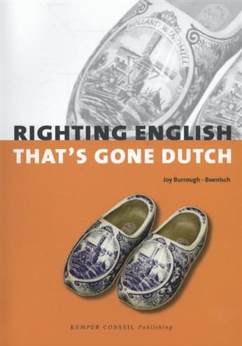 9789076542652 - Righting English that's gone Dutch