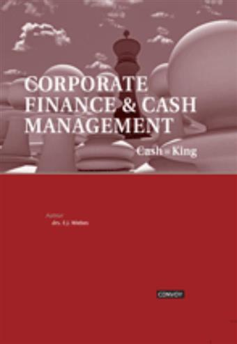 9789079564446 - Corporate finance & cash management