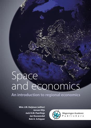 9789086863044 - Space and economics