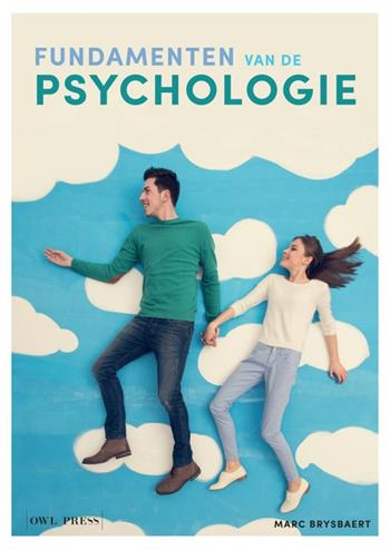 9789089319258 - Fundamenten van de psychologie
