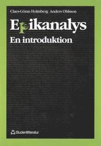 9789144008042 - Epikanalys : En Introduktion