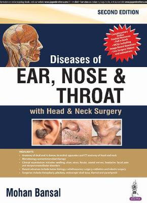 9789386261519 - Diseases of Ear, Nose & Throat: with Head & Neck Surgery