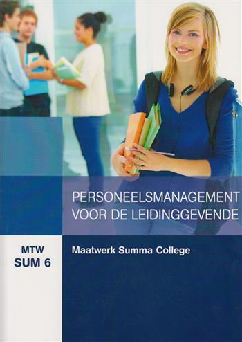 9789400215894 - Maatwk Summa College Person.man voor leidinggev (MTW SUM 6)