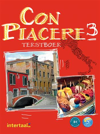 9789460304767 - Con piacere 3 tekstboek (+ cd)