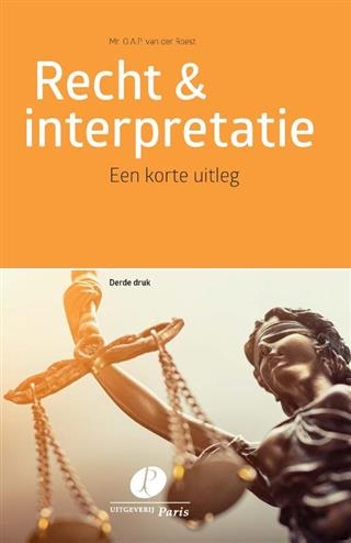 9789462511767 - Recht & interpretatie