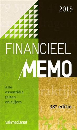 9789462760516 - Financieel memo 2015