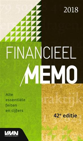 9789462762572 - Financieel Memo 2018