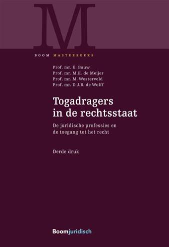 9789462906754 - Togadragers in de rechtsstaat