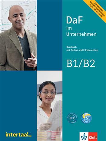 DaF im Unternehmen B1-B2 (Kursbuch mit Audios und Filmen) - Grosser, Regine,