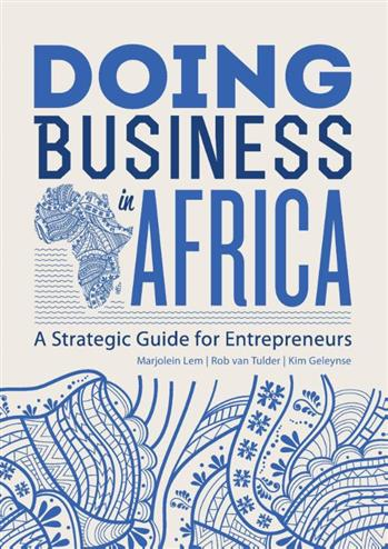 9789490314163 - Doing business in Africa