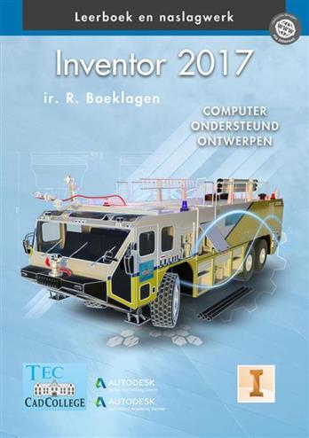 Inventor 2017. computer ondersteund ontwerpen, Ronald Boeklagen, Hardcover