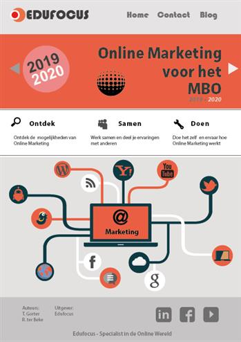 9789492442338 - Online Marketing voor het MBO 2019-2020