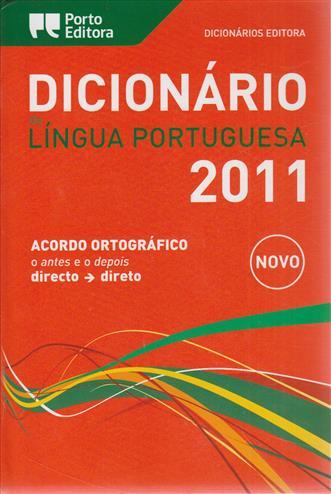 Dicionario Editora DA Lingua Portuguesa 2009