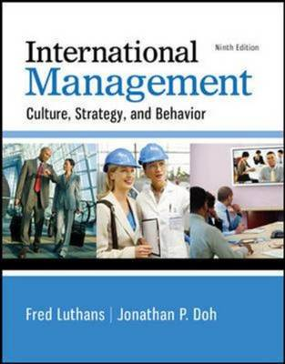 9789814577298 - International Management: Culture, Strategy, and Behavior