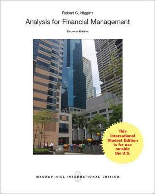 9789814670159 - Analysis for Financial Management
