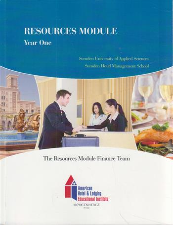 9990002028663 - Resources module stenden university basic hotel and restaurant accounting